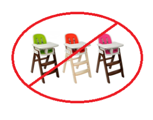 NO MORE HIGH CHAIR